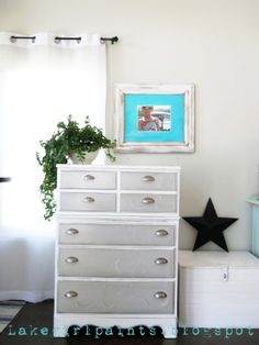 nauyical painted furniture | Lake Girl Paints: Painted Furniture