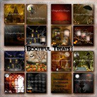 Bootiful Treats Digital Scrapbooking Quick Pages for Halloween