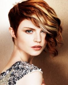 asymmetrical aline hair