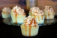 Salted Caramel Cupcakes | The Merrythought