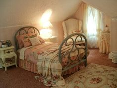 dormitorio casa de muñecas