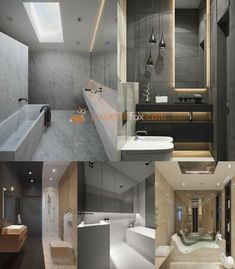 High Tech Interior Design is a modern design trend with focus on cutting-edge technology, straight lines, clear geometric shapes and futuristic furniture. Modern Kitchen Design, Modern House Design, Modern Interior Design, Interior Ideas, Bathroom Interior Design, Kitchen Interior, Interior Design Living Room, Design Ideas, Game Design