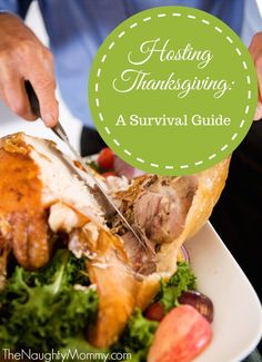 Are you hosting Thanksgiving this year? This is my fifth year in a row and I'm sharing ten practical, helpful tips to surviving Thanksgiving when you're the hostess. You will want to save this!