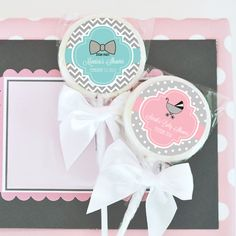 Something Sweet Baby Personalized Lollipop Favors