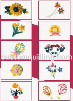 All Occasion Gift Tag Kit Custom Quilling Supplies Kit includes:  Quilling Paper, 6 4 x 5 folded note cards with envelopes complete instructions to finish the cards. Skill Level: Beginner