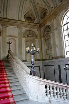 Royal Palace of Milan -neoclassical staircase