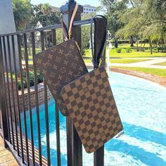 Louis Vuitton Neverfull Pochette Wristlets in! Call us at 813-258-8800 or email us at customerservice@mymoshposh.com if you would like to purchase before they go online!