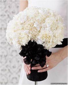 white carnations bouquet. send flowers to delhi delhi.crazyflorist.com