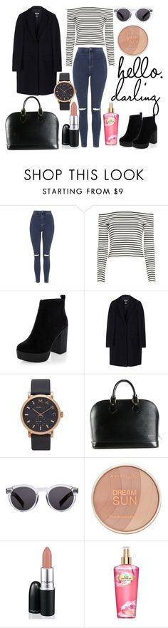 """""""My May Look Book..."""" by anyaaa04 on Polyvore featuring Topshop, 10 Crosby Derek Lam, New Look, MSGM, Marc Jacobs, Louis Vuitton, Illesteva, Maybelline, David Jones and Victoria's Secret"""