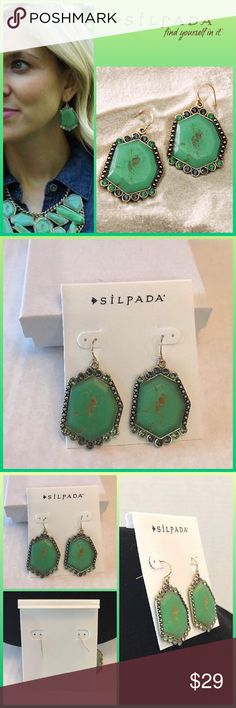 JUST IN 🆕 'BOTANICAL' SWAROVSKI CRYSTAL EARRINGS ▪️Swarovski colored crystals ▪️Resin shaped stones ▪️French wire hangers ▪️KR/Silpada stamp logo   🛍BUNDLE=SAVE  🚫TRADE🚫HOLD🚫MODEL  💯Brand Authentic  ✈️Ship Same Day--Buy By 2PM PST  🖲USE BLUE OFFER BUTTON TO NEGOTIATE   ✔️Ask Questions Not Answered In Description--Want You To Be Happy! Silpada Jewelry Earrings