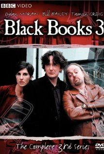 Black Books is a British sitcom created by Dylan Moran and Graham Linehan that was broadcast on Channel 4 from 2000 to 2004. Starring Moran, Bill Bailey and Tamsin Greig, the series is set in the eponymous London bookshop Black Books and follows the lives of its owner Bernard Black, his assistant Manny Bianco (Bailey) and their friend Fran Katzenjammer (Greig)