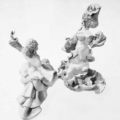 Creando arte en cuarentena 😍 nuestra obra son dos flamenquitas de arcilla! #Parte1  We did it @ilanduran ♥️💑 #Arte #Art #love #flamenco #stayHome Maria Jose, Sons, Statue, Instagram, Flamingo, Clay, Art, My Son, Sculpture