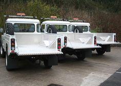 High Capacity 110 Land Rover, Samson Aluminium Load Liner