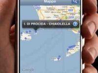 Navigare il portolano sull'I-phone