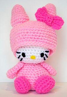 Hello Kitty Bubblegum Pink Bunny     Pink + Hello Kitty = happiness!    by hookmiup