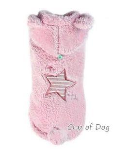 Manteau chien Star Boa Pink Puppy Angel https://www.cupofdog.fr/vetement-chihuahua-manteau-petit-chien-xsl-246.html