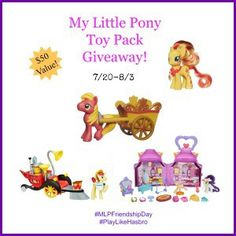 My Little Pony Toy Pack Giveaway