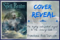 Dima Zales' THE SPELL REALM Cover Reveal #fantasy #scifi