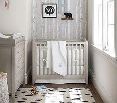 Emerson Mini Crib & Mattress Set #pbkids