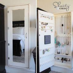 Shanty2Chic-DIY-Jewelry-Cabinet.jpg 720×720 pixels