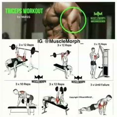 Triceps workout | www.riptoned.com