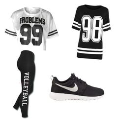 """""""Untitled #33"""" by brooklyen on Polyvore featuring NIKE"""