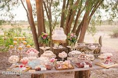 Gorgeous table of sweets and treats!
