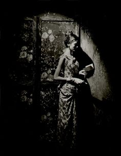 Beauty in Shaddow by Cecil Beaton