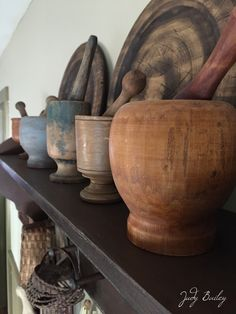 My Collection of pestle & mortars