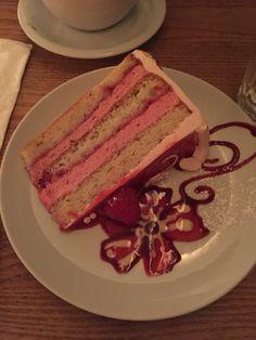 Best flavor! Raspeberry Almond Cake @ Pastiche.