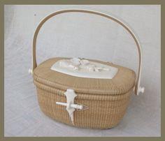 Antique Nantucket basket, beautiful.