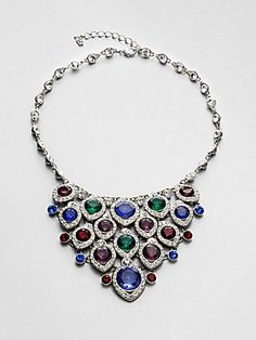 ABS by Allen Schwartz Jewelry Multicolor Bib Necklace