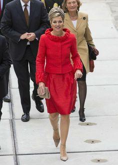 22 mei 2013. Queen Maxima at 150th birthday of Erasmus MC-Sophia Children's hospital in Rotterdam