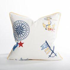 Chesapeake Designer Beach Couch Pillow | Coastal Home Pillows