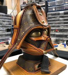 I Upcycle Old Louis Vuitton Bags Into Star Wars Sculptures cd8681fcbfb