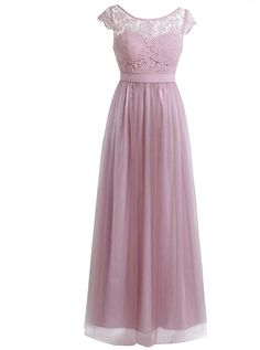 online shopping for FEESHOW Women's Floral Lace Tulle Bridesmaid Dress Low Cutout Back Long Evening Gowns from top store. See new offer for FEESHOW Women's Floral Lace Tulle Bridesmaid Dress Low Cutout Back Long Evening Gowns Tulle Ball Gown, Ball Gowns Prom, Prom Party Dresses, Bridesmaid Dresses With Sleeves, Tulle Bridesmaid Dress, Dusty Rose Dress, Long Evening Gowns, Evening Party, Cocktail Dress Prom
