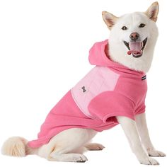 Petco Pup Crew Pink Diamond Quilted Dog Hoodie