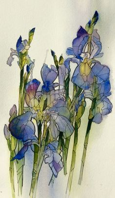 Watercolor&ink Aud Rye