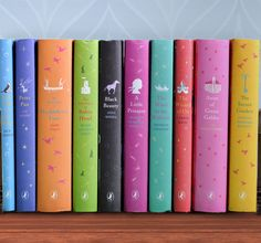 Where have these been all my life? I LOVE my little pink copy of Anne of Green Gables!!