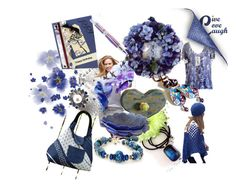 Song Sung Blue,, by riagr on Polyvore featuring Handle, handmade, shopsmall, integrityTT and EtsySpecialT