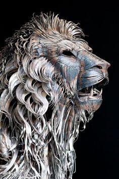 The Incredible Scrap Metal Animal Sculptures of John Lopez