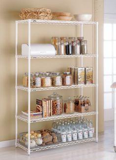 The Container Store > InterMetro® Kitchen Shelves. I love organization