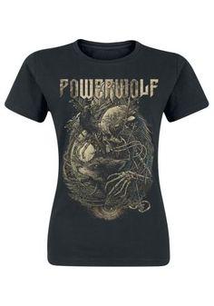 Skeleton - Powerwolf T-Shirt Manches courtes