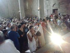 La comunione a Romena http://www.fabriziocatalano.it/18-19-20-luglio-rischiamo-il-coraggio-incontri-fraternita-di-romena/