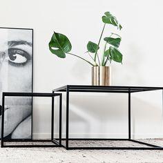 Domo Square sofabord M, svart – Domo – Kjøp møbler online på Room21.no