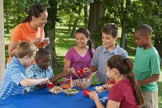 Help kids take a healthy summer break with nutrition education at #summermeals sites!