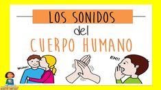 Los sonidos del cuerpo humano_Discriminación sonidos Baby Gym, Preschool Crafts, Musicals, Sons, Education, Comics, Youtube, 1, Speech Therapy