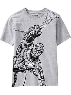 Boys Marvel Comics Spider-Man™ Tees | Old Navy--got it