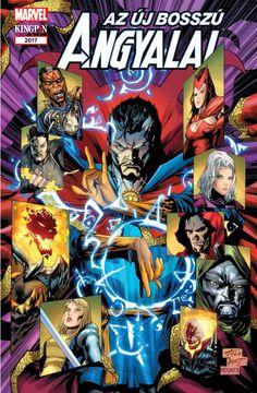Bosszú Angyalai-kötetek : Az Új Bosszú Angyalai: Dr. Strange
