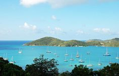 Photography by Aimee L Maher http://aimee-maher.artistwebsites.com/featured/paradise-awaits-aimee-l-maher.html St Thomas seascape fine art photo home decor wall art gift $37 Pin It